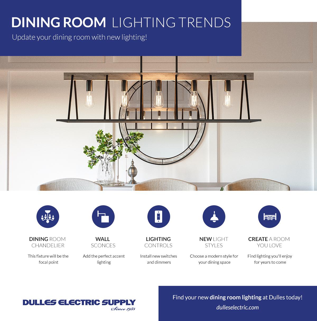 Dining Room Lighting Sterling, Dining Room Lighting Trends